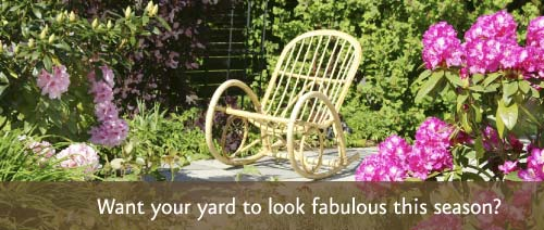 Want your yard to look fabulous this season?